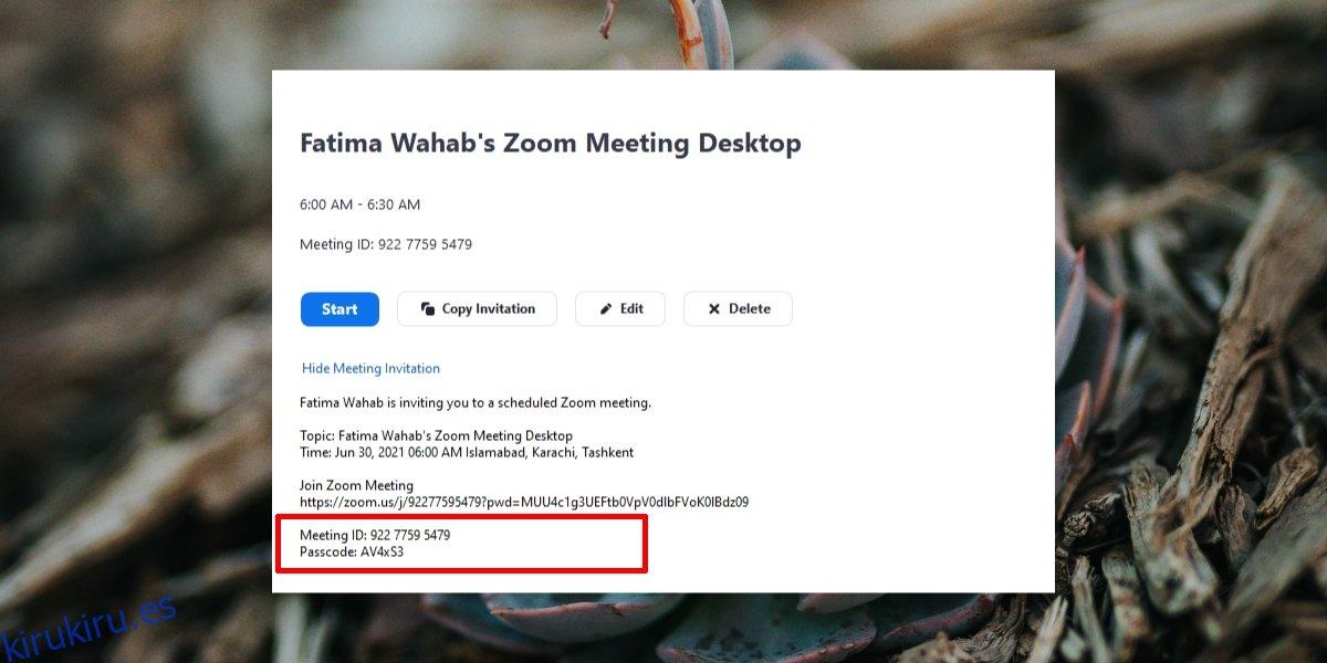 Cómo usar un código de reunión de Zoom para unirse a una reunión